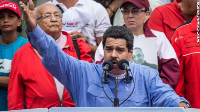 Maduro: Venezuela detuvo a varios estadounidenses por presunto espionaje