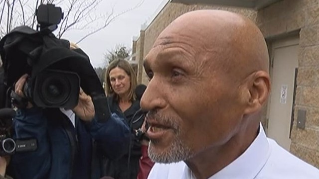 A man who was wrongly convicted of murder when he was 14 clears his name after 27 long years
