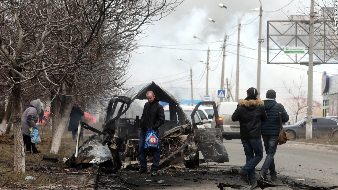 16 killed in Ukraine, officials say...