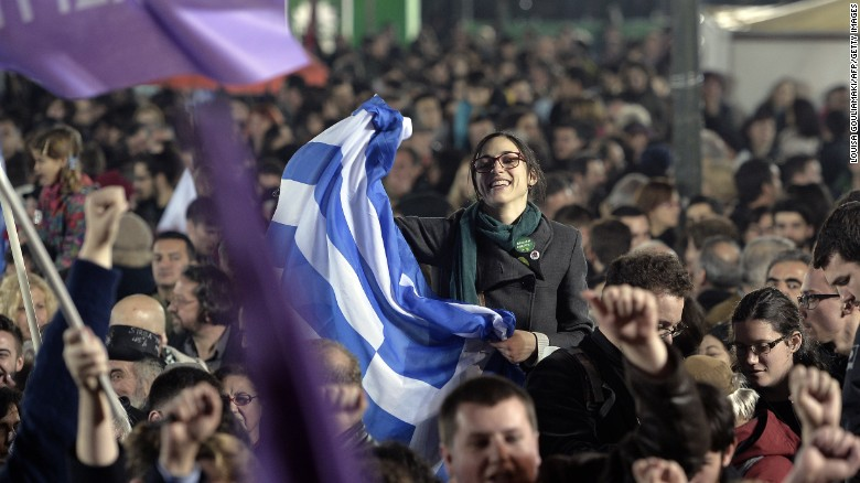 El partido de izquierda Syriza gana las elecciones en Grecia