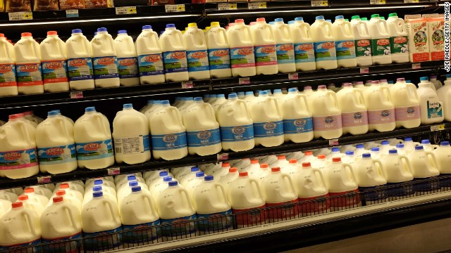 ¿Por qué la gente quiere leche, pan y papel higiénico cuando hay tormentas de nieve?