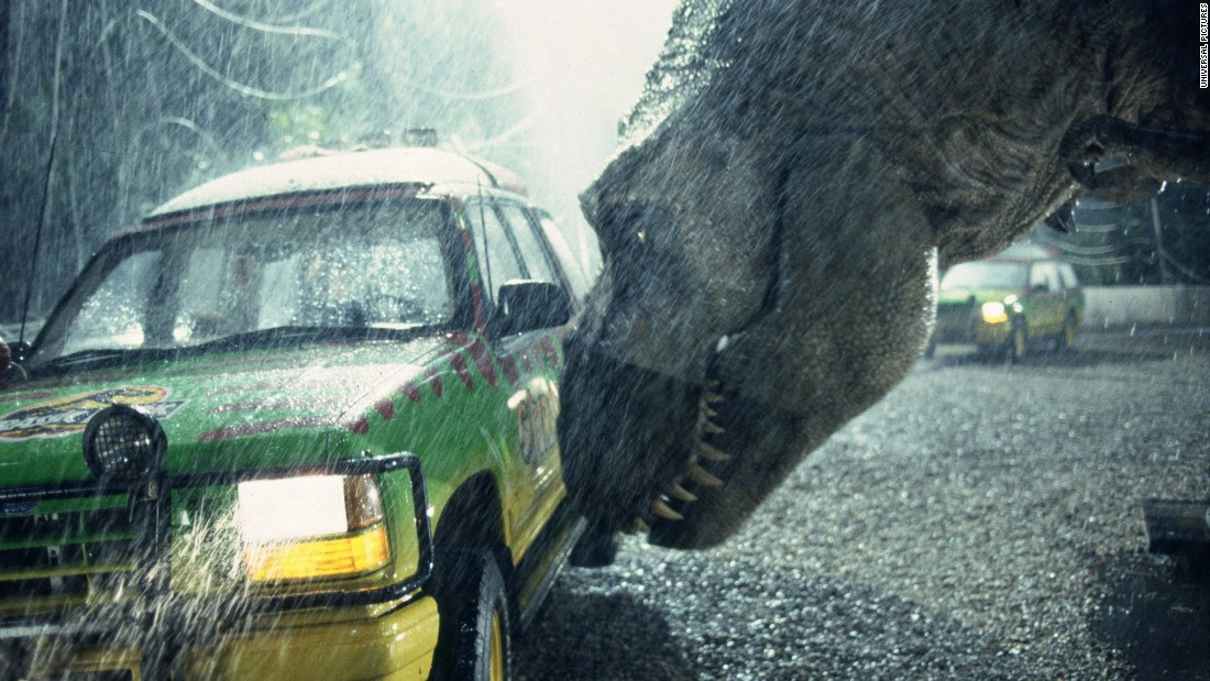 "Steven Spielberg's 1993 film ""Jurassic Park"" was such a classic, it even performed well 20 years later. When the 3-D version of the original was re-released in theaters in April 2013, it earned $18.6 million in its opening weekend. Let's run that past you again: $18.6 million, from a movie many moviegoers probably already own. ""Jurassic World,"" a new movie, is due out in June 2015."