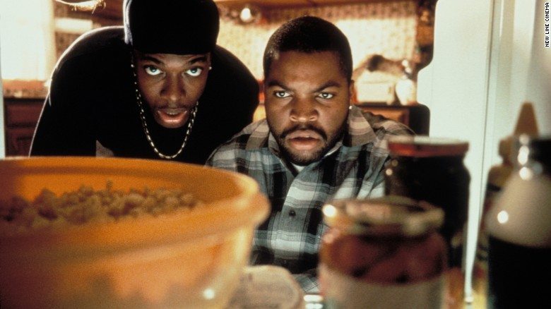 "Chris Tucker, left, and Ice Cube starred in the 1995 film ""Friday."""