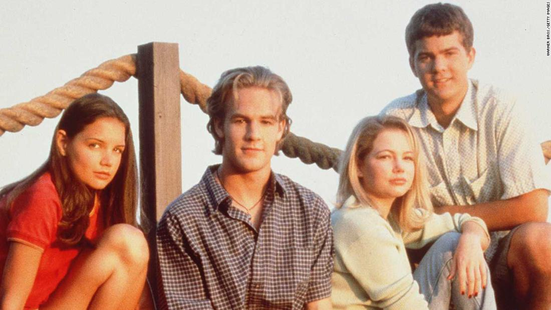 "In 1998, a quad of then-unknown teens stepped into roles that would come to define their lives. ""Dawson's Creek"" lasted for six seasons, but its popularity is still strong 10 years after the series finale. Need proof? Star James Van Der Beek's recent role on ""Don't Trust the B----"" <a href=""http://www.cnn.com/2013/01/24/showbiz/tv/james-van-der-beek-apartment-23/index.html?iref=allsearch"" target=""_blank"">revolved around the fact that he's ""Beek from the Creek.""</a>  Katie Holmes (far left), Michelle Williams (third from left); and Joshua Jackson (right) haven't done too badly for themselves, either."