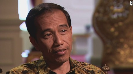 Indonesia's President discusses AirAsia plane crash
