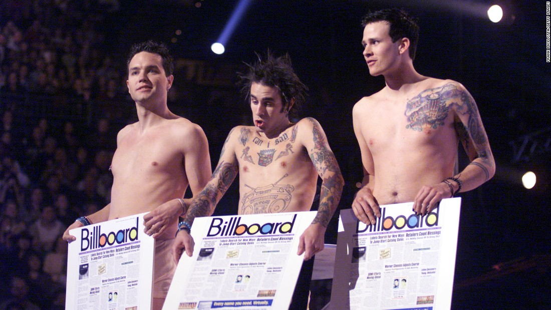 "California trio Blink-182 was on its fourth album when it hit radio paydirt in 1999. With songs such as ""All the Small Things"" and ""What's My Age Again?,"" Blink-182 became a household name after seven years in the industry."