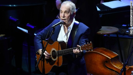 NEW YORK, NY - JANUARY 20:  Paul Simon performs onstage during The Nearness Of You Benefit Concert at Frederick P. Rose Hall, Jazz at Lincoln Center on January 20, 2015 in New York City.  (Photo by Ilya S. Savenok/Getty Images)