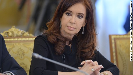 In this handout image provided by Host Photo Agency, President of Argentina Cristina Fernandez de Kirchner attends the second working meeting of the G20 heads of state and government, heads of invited states and international organizations at the G20 Summit on September 6, 2013 in St. Petersburg, Russia.