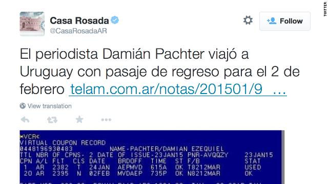 Por qué es preocupante el tuit de la Casa Rosada sobre periodista del caso Nisman