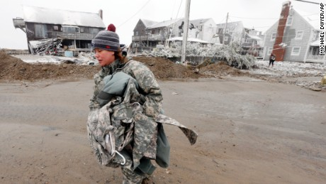 Blizzard destroys National Guard sergeant's home