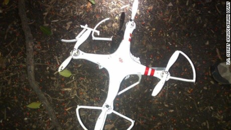 This is the drone that crashed on the White House lawn