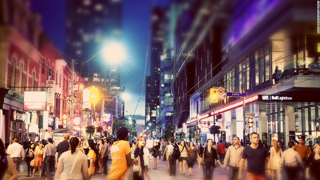 Consultancy firm Mercer has published its annual list of the best cities for expat quality of life. Toronto, Canada comes in at number 15 -- one of only two North American cities to make the top of the list.