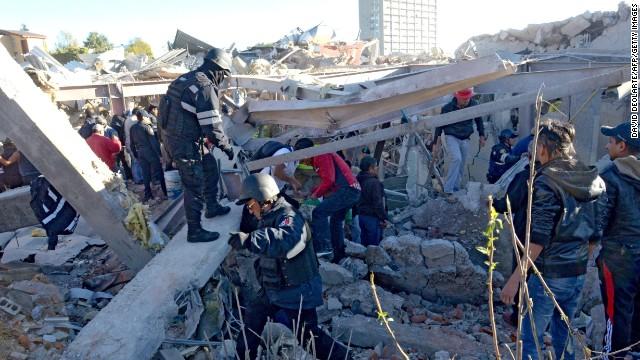 Cuajimalpa: de un lugar de vida solo quedan escombros