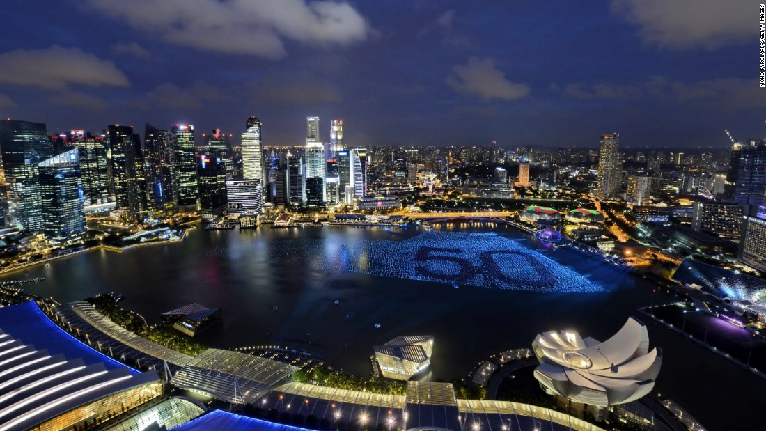 With 17.09 million international visitors, Singapore was the third most visited city on the list.
