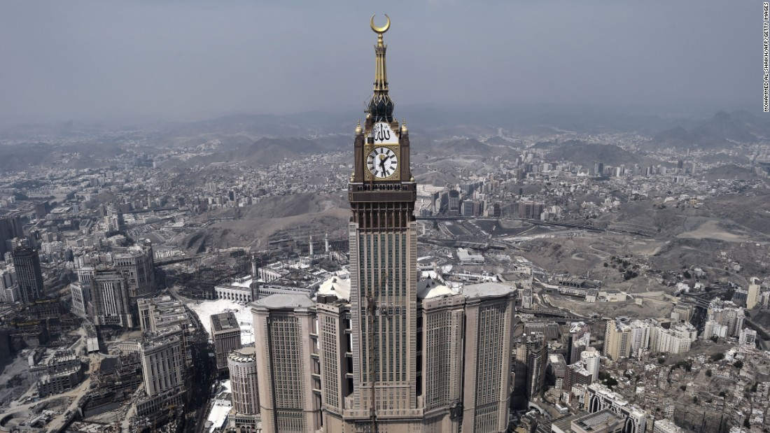 Islamic pilgrimage center Mecca pulled in 6.12 million international visitor arrivals, an increase of 6.2% on the previous year.