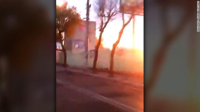 mexico hospital explosion video_00020912