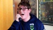 Teen is 'freaking out' over Super Bowl surprise