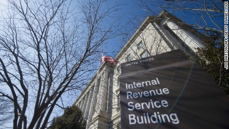 The Internal Revenue Service (IRS) building is viewed in Washington, DC, February 19, 2014. AFP PHOTO / Jim WATSON (Photo credit should read JIM WATSON/AFP/Getty Images)