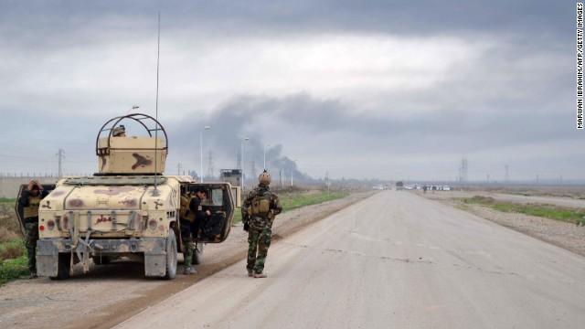 ISIS lanza ataque a la ciudad petrolífera de Kirkuk, al norte de Irak