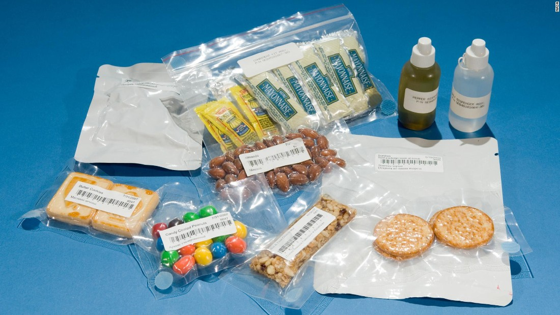 The NASA diet: It's food, but not as we know it - CNN.com