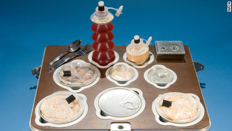 The NASA diet: It's food, but not as we know it