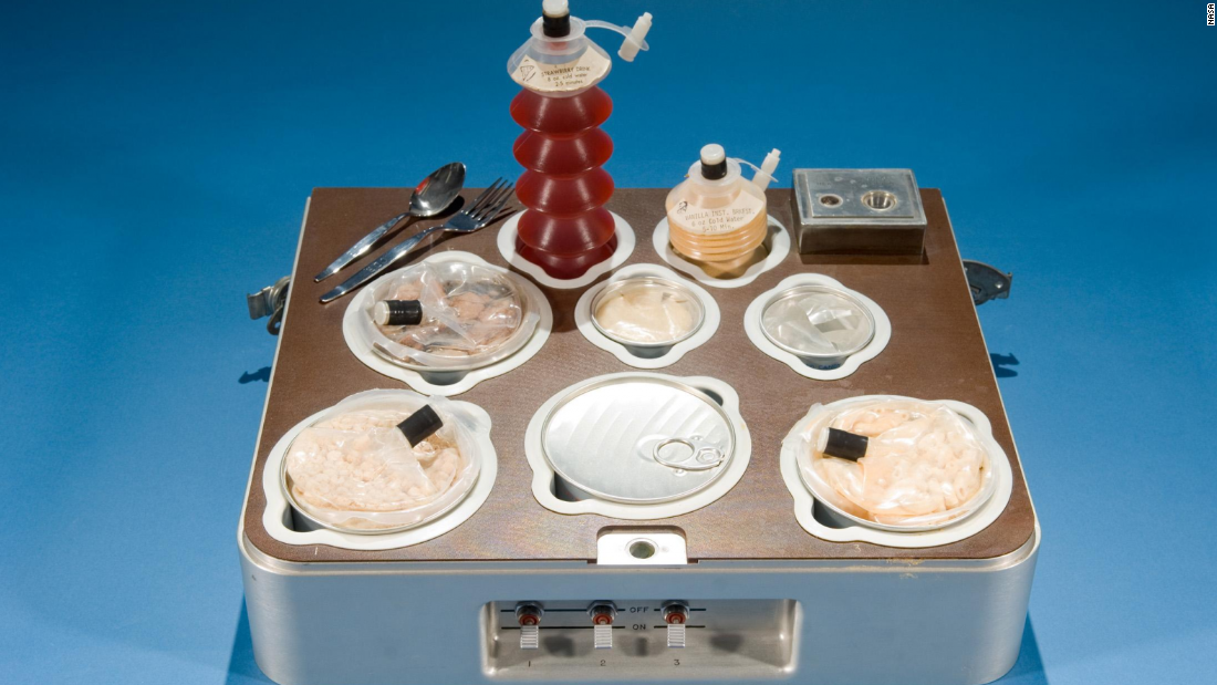 what food astronauts eat in space - photo #9