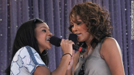 Bobbi Kristina Brown: Growing up in the spotlight