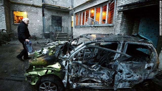 Líderes de Rusia y Ucrania se reunirán en medio de la incesante violencia