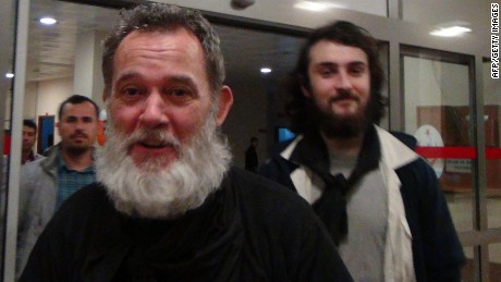 Pictures: François' release from captivity