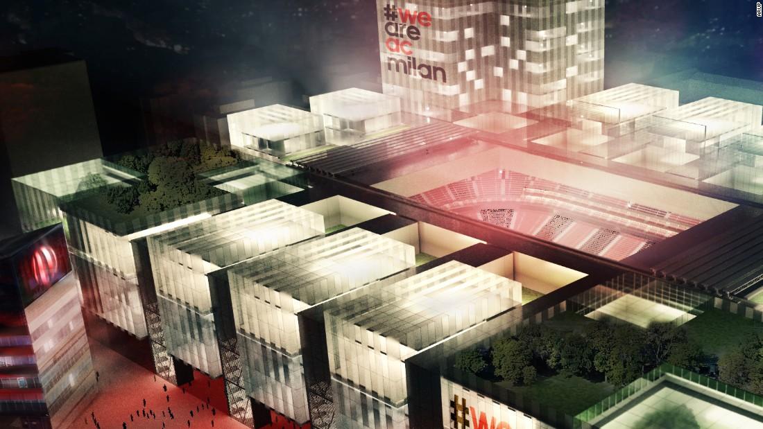 AC Milan unveils grand plans for new stadium - CNN.com