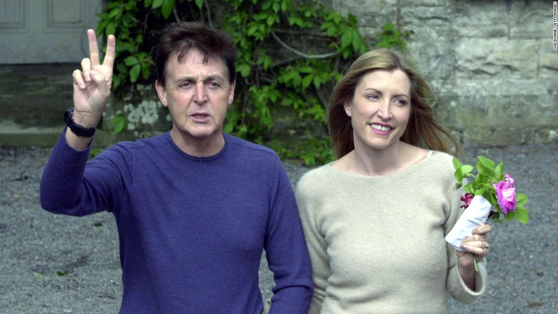 Mills, though, is still best known as the woman who married Paul McCartney at a star-studded ceremony in the summer of 2002.