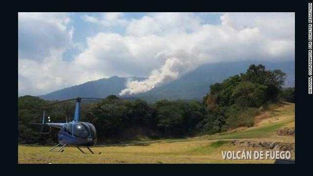 Evacuaciones en Guatemala por erupción del volcán de Fuego