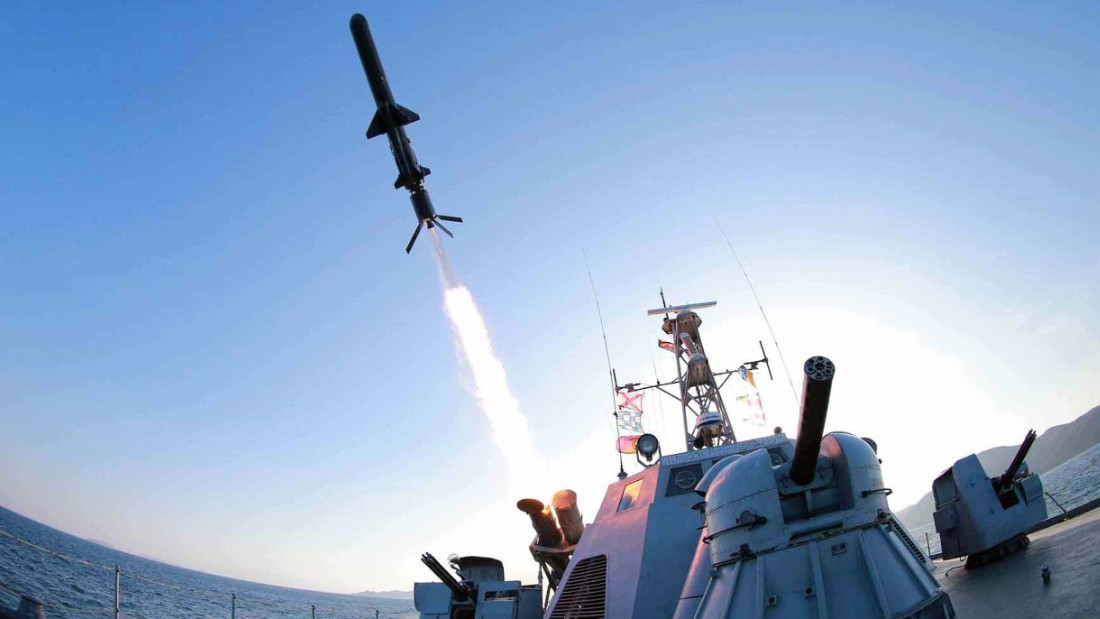 "North Korea test-fired a new <a href=""http://www.cnn.com/2015/02/09/asia/north-korea-missiles/"">""ultra-precision"" intelligent rocket</a> to be deployed across its navy, the state-run Korean Central News Agency said on February 7, 2015."
