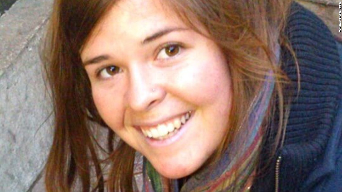 "<a href=""http://cnn.com/2015/02/10/world/isis-hostage-mueller/"">Kayla Mueller,</a> was a 26-year-old humanitarian worker from Prescott, Arizona, who was taken hostage in August 2013 in Syria. Although the circumstances of her death are unclear, it was confirmed in February when ISIS sent a private message to her family. U.S. government officials <a href=""http://cnn.com/2015/02/10/world/isis-hostage-mueller/"">later revealed</a> that she had been tortured and sexually abused by ISIS' top leader Abu Bakr al Baghdadi during her captivity."