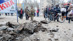 Kramatorsk shelled day before peace talks set to begin