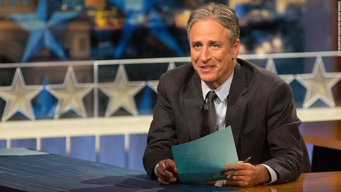 "With his barbed jokes about political hypocrisy, Jon Stewart won enormous acclaim over his 15-plus years hosting ""The Daily Show."" He announced in February that he was leaving the Comedy Central fake-news program this year to focus on other projects. His directing debut, ""Rosewater,"" was released in late 2014."