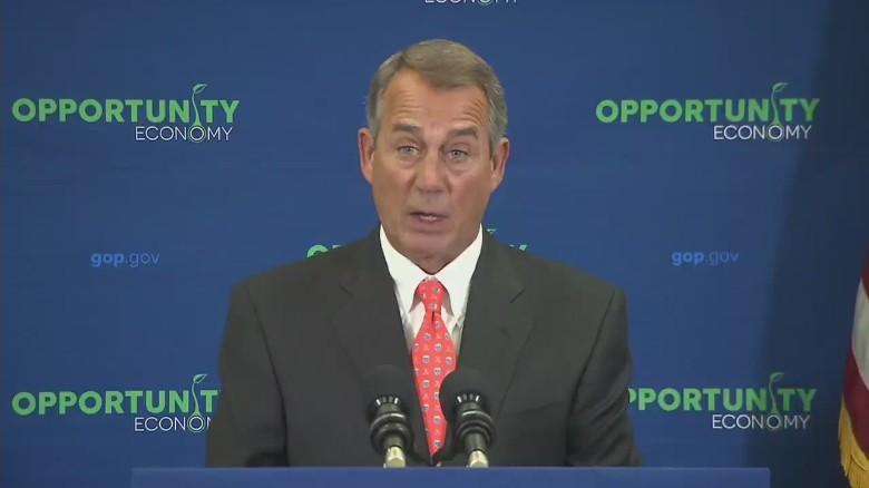 Boehner tells the Senate to pass DHS funding