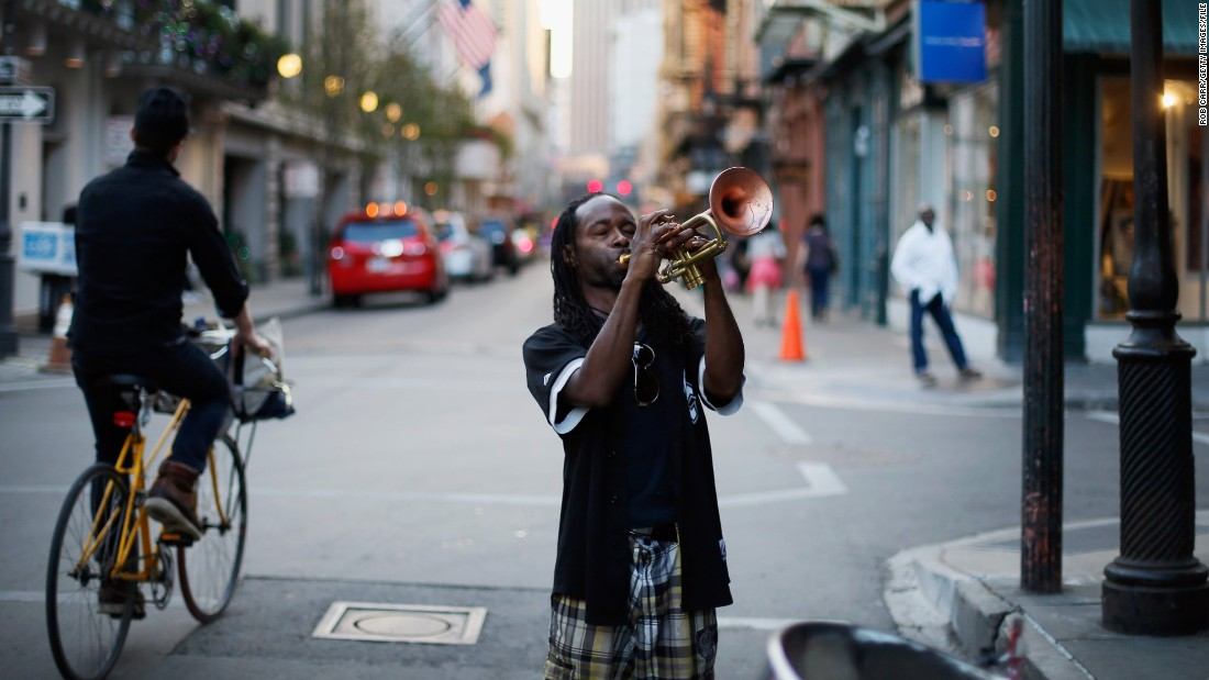 The sounds of jazz are everywhere in New Orleans, from trumpeting in the streets to clubs scattered throughout the city.