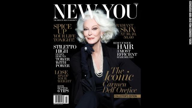 Una supermodelo de 83 años