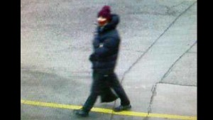 Copenhagen police released this photo of a man in connection with Saturday's terror attack.