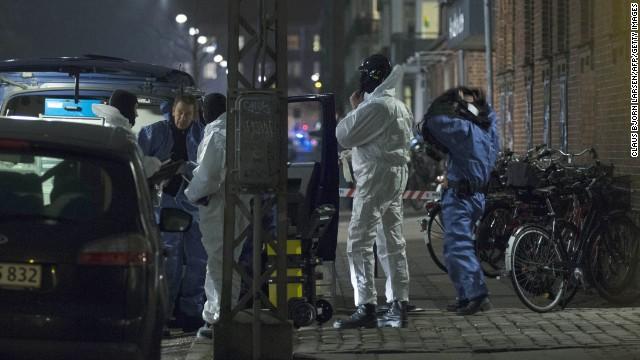 Policía de Copenhague mata al supuesto pistolero que dejó 2 muertos y 5 heridos