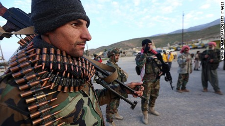 Kurds regain control after ISIS attack near Irbil