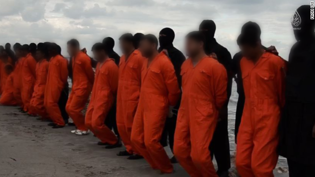 ISIS difunde video de presunta decapitación masiva de cristianos coptos en Libia