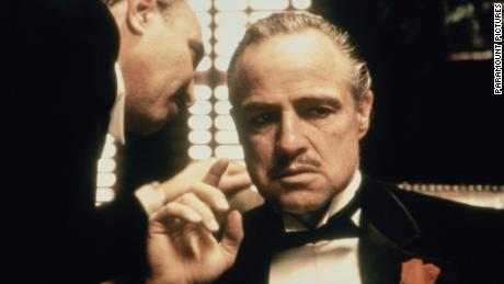 © 1972 - Paramount Pictures Titles: The Godfather Names: Marlon Brando Characters: Don Vito Corleone Still of Marlon Brando in The Godfather (1972)