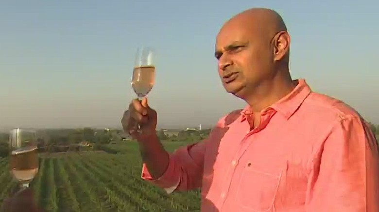 Meet the man who wants the world to drink Indian wine #WinesOfIndia