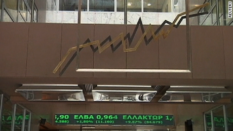 Athens Stock Market, June 29, 2012