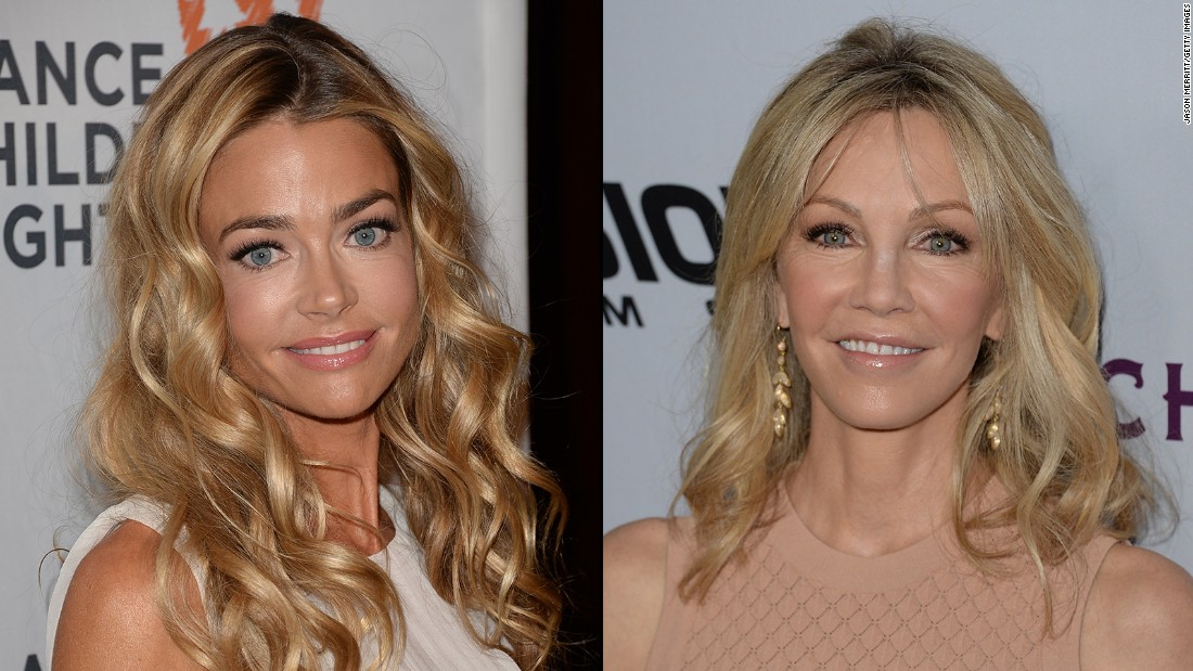 Onetime friends Denise Richards and Heather Locklear hit a major impasse after the former started dating the latter's ex, Bon Jovi's Richie Sambora. In interviews, Richards denied that she and Locklear were still friends at the time she began seeing Sambora.