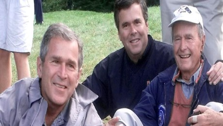 Members of the Bush family