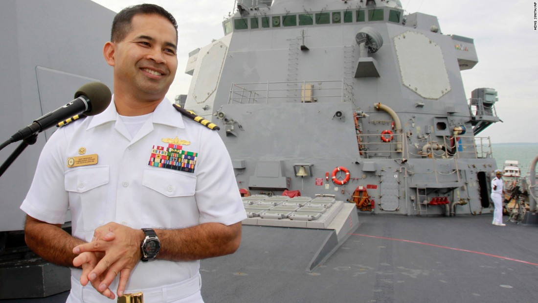 U.S. Navy officer Michael Vannak Khem Misiewicz is facing federal charges in bribery schemes involving hundreds of millions of dollars in Navy contracts. The payoffs included prostitutes and luxury travel, according to the U.S. attorney's office in San Diego.
