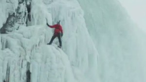 Niagara Falls climber: 'You can feel the Earth shake'